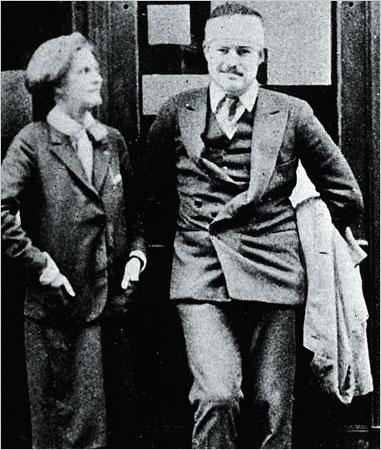 Sylvia Beach and Hemingway